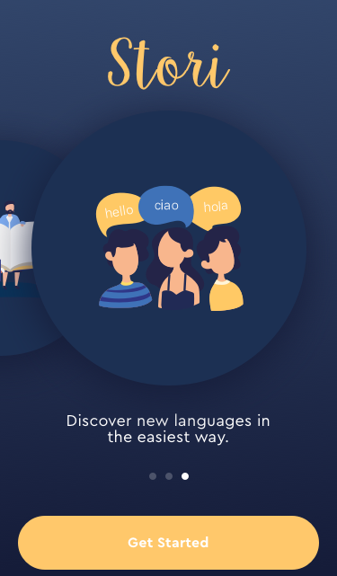 Stori- Learn languages through stories.
